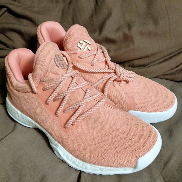 5d451eaebdb9 NEW Adidas Harden Vol. 1 LS PK Pink Youth 5.5